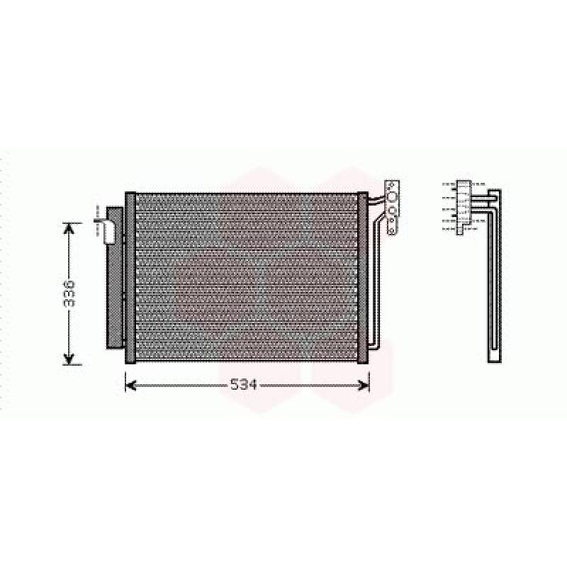 condenseur radiateur clim bmw x5 condenseur bmw x5 a005 ean 5410909305093. Black Bedroom Furniture Sets. Home Design Ideas