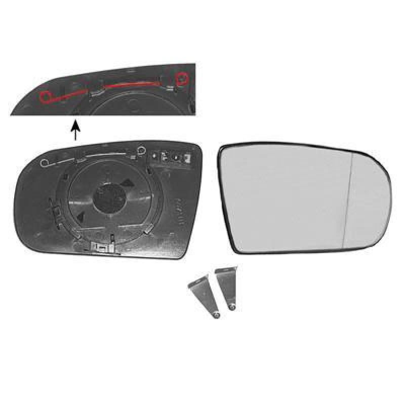 Miroir retroviseur droit mercedes w210 classe e miroir for Miroir de retroviseur