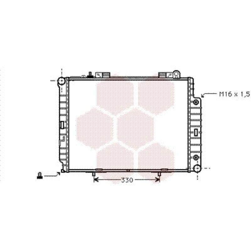 radiateur moteur mercedes classe e w210 radiateur moteur mercedes classe e w210 2 9 td de. Black Bedroom Furniture Sets. Home Design Ideas