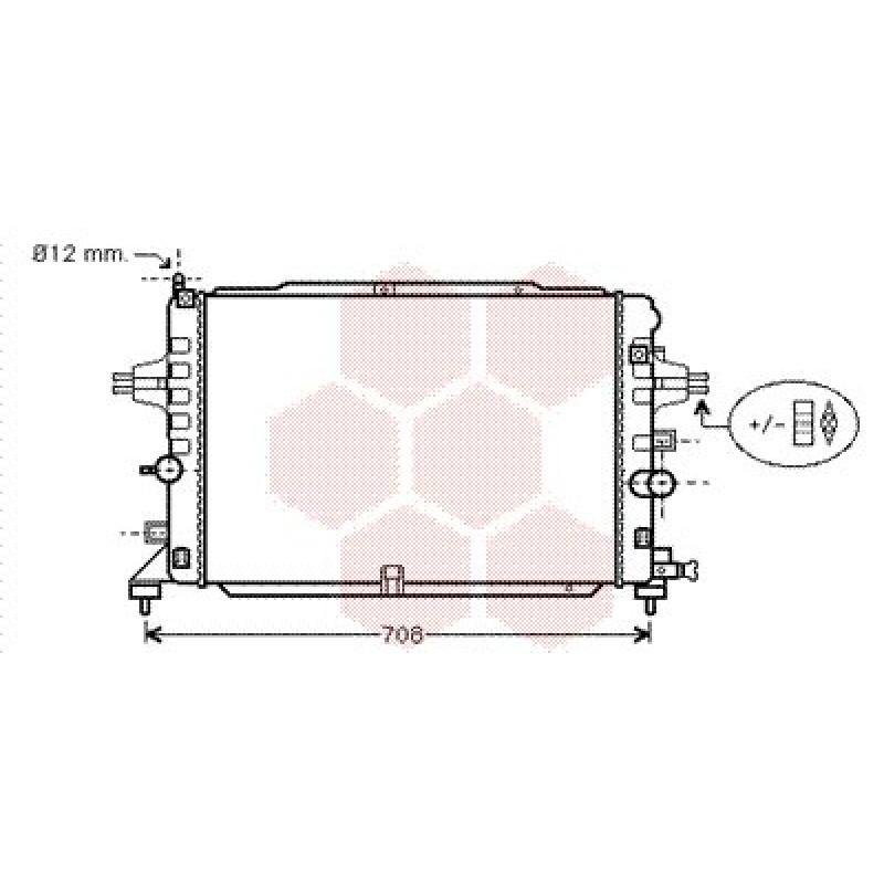 radiateur opel astra h - radiateur opel astra h - essence 1 6 turbo