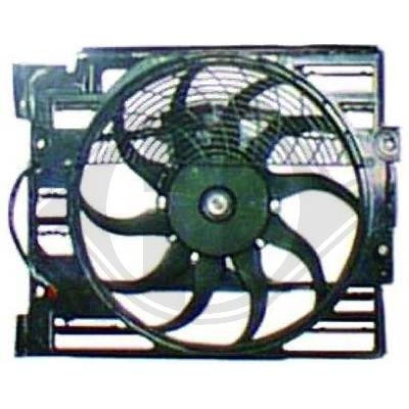 ventilateur helice clim electrique bmw s rie 7 e38 cadre ventilateur de climatisation. Black Bedroom Furniture Sets. Home Design Ideas
